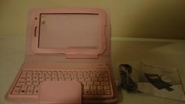 New Pink Bluetooth Keyboard case for SAMSUNG GALAXY Tab 7 / nice - $23.36