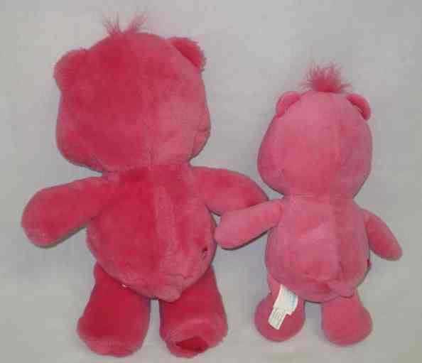 "CUTE 11"" And 14"" Care Bear SECRET HEART Plush Bears"