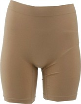 Vanity Fair Everyday Layers Seamles Smoothing Short DAMASK NEUTRAL L NEW... - $10.87