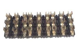 LOT OF 9 ALLEN BRADLEY X-401978 FUSE BLOCK 30AMP 600 VOLT MAX X401978
