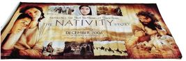 2006 THE NATIVITY STORY Original Movie Vinyl Long Theater Banner 84x48  ... - $59.99