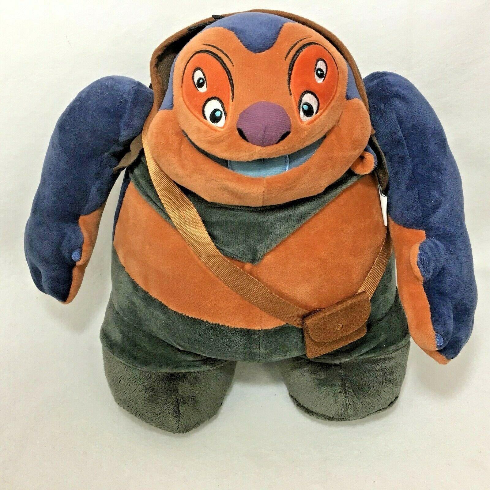 Disney Store Dr Jumba Jookiba Plush From Lilo & Stitch 13 Inch Mad Scientist