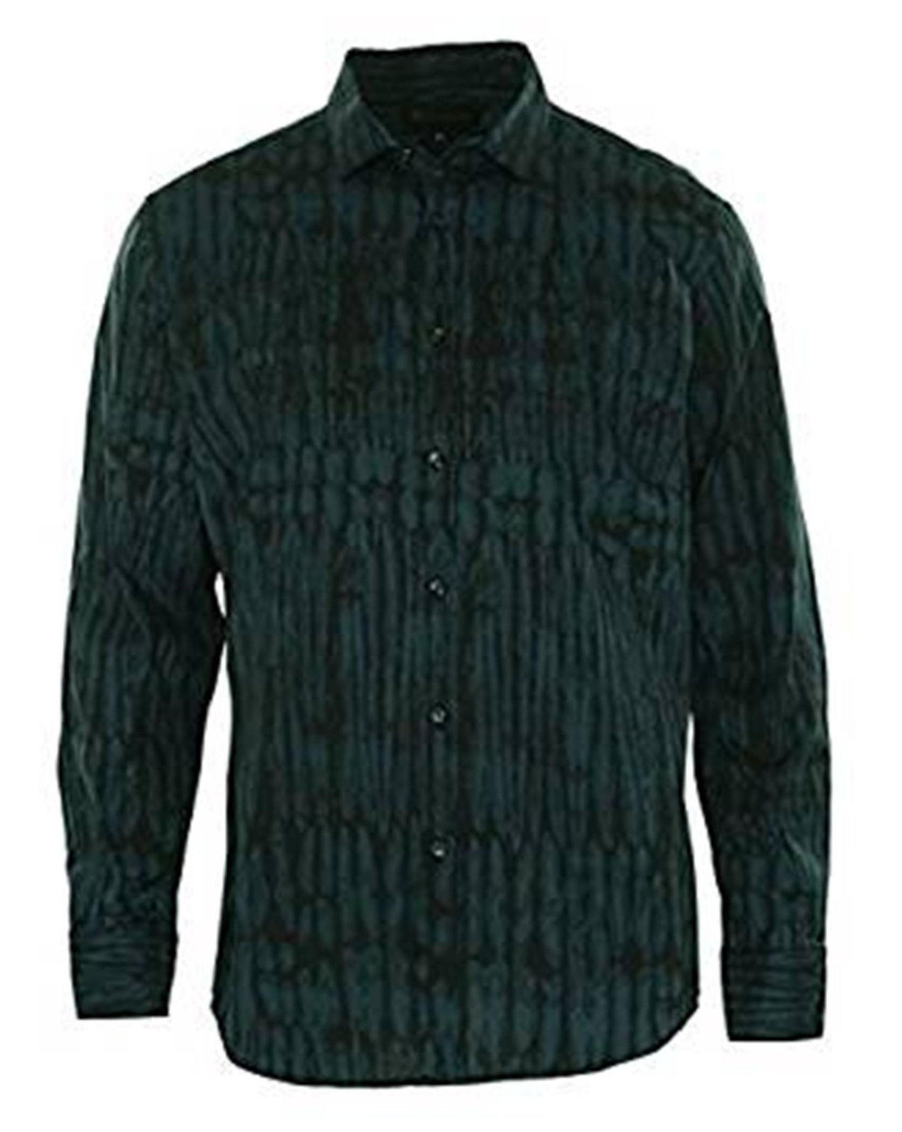 INC International Concepts Men's Stanley Long-Sleeve Button Down Printed Shirt M