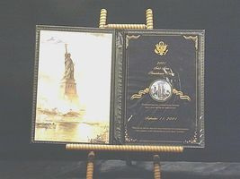 2001 Solid Silver Remembrance Dollar United States Commemorative Gallery AA19-CN image 10