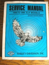 1986 - 1990 Harley-Davidson XLH Sportster 1200 883 SERVICE Shop Repair MANUAL  - $94.05