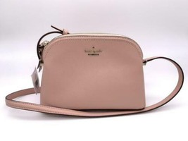 Kate Spade Leather Shoulder Bag Pochette Zipper Type Pink With Tag No.S3... - $267.00