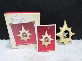 2005 Once Upon a Starry Night, Hallmark Keepsake Christmas Tree Ornament... - $5.95