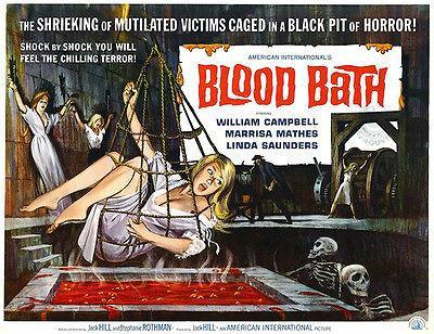 Primary image for Blood Bath - 1966 - Movie Poster