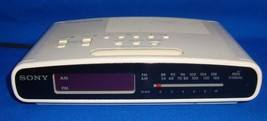 SONY ICF-C420 DREAM MACHINE STEREO FM/AM DUAL A... - $9.49