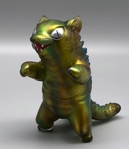 Max Toy Reverse Painted Limited Gold Negora image 2
