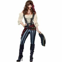 California Kostüme Brazen Seeräuber Erwachsene Damen Halloween Kostüm 01393 - $46.59