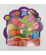 Set of 3 Collectible Series 1 FlipaZoos Figures  - New - $8.99