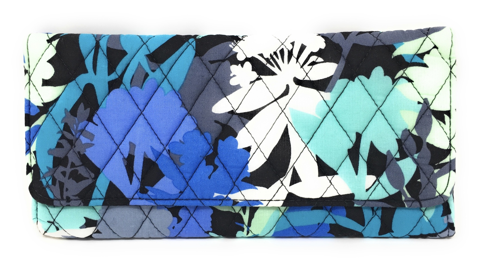 Vera Bradley Trifold Wallet Camofloral with Solid Interior - NWT  - $39.95
