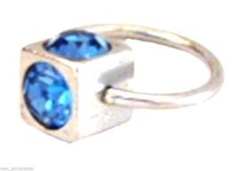 "Captive Lip Ear Eyebrow Ring 16 Gauge 7/16"" w/S... - $4.95"