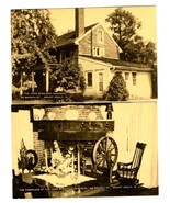 2 The John Woolman Memorial Postcards Branch Street Mount Holly New Jersey - $17.87