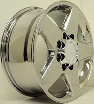 "Chrome 20"" 8 Lug 8-180 5 Spoke Wheels for 2011-2018 Chevy 2500 3500 - $977.00"