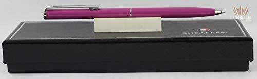 Cross Sheaffer Made in The USA Purple Agio with Nickel Appointments Ballpoint Pe