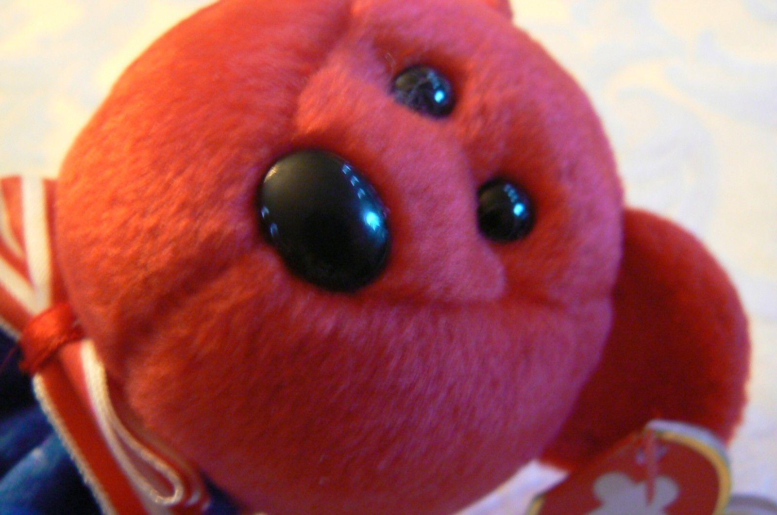 "Vintage Ty Beanie Babies Liberty "" The Bear "" Hang Tag 2001/Tush Tag 2002 Errors image 6"