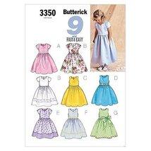 Butterick Patterns B3350 Children's/Girls' Dress, Size 6-7-8 - $14.70