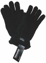 Black Structure Wool Driving Gloves 3M Thinsulate Lined Mens M L XL Wint... - $10.99