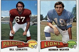 1975 Topps Football Cards (1-418)   - YOU PICK THE CARD - $0.98+