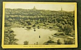 Antique Singer Sewing Co. Trade Card  'Boston - Public Gardens ' (B-1) - $14.99