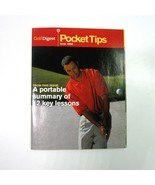 June 1999 Golf Digest Pocket Tips Booklet with Young Tiger Woods on the ... - $7.99
