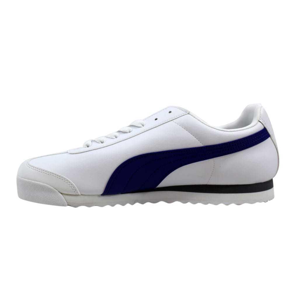 Puma Roma Basic White/Clematis Blue 353572 46 Men's SZ 13