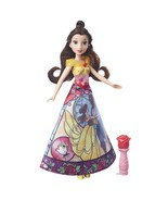 Disney Princess Belle's Magical Story Skirt Doll in Fuchsia/Yellow by Ha... - $28.70