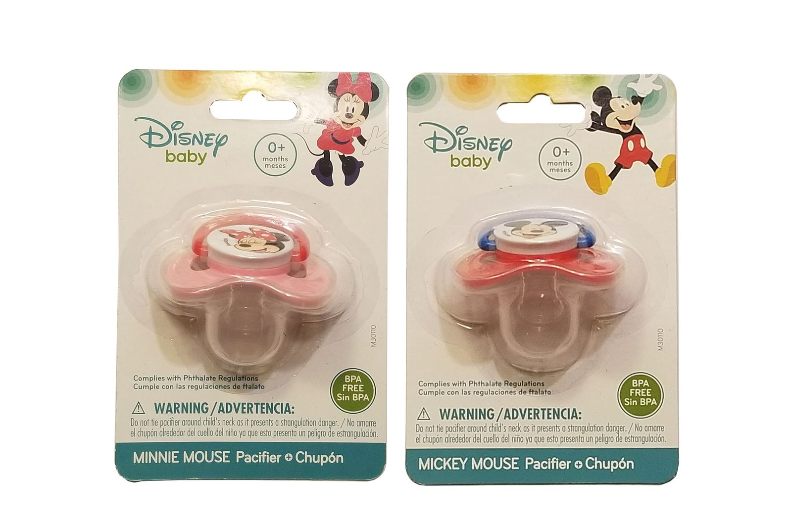 Disney Baby Pacifier + Chupon *Choose One*