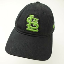 St Louis Cardinals Black Green New Era Adjustable Women's Baseball Ball Cap Hat - $13.85