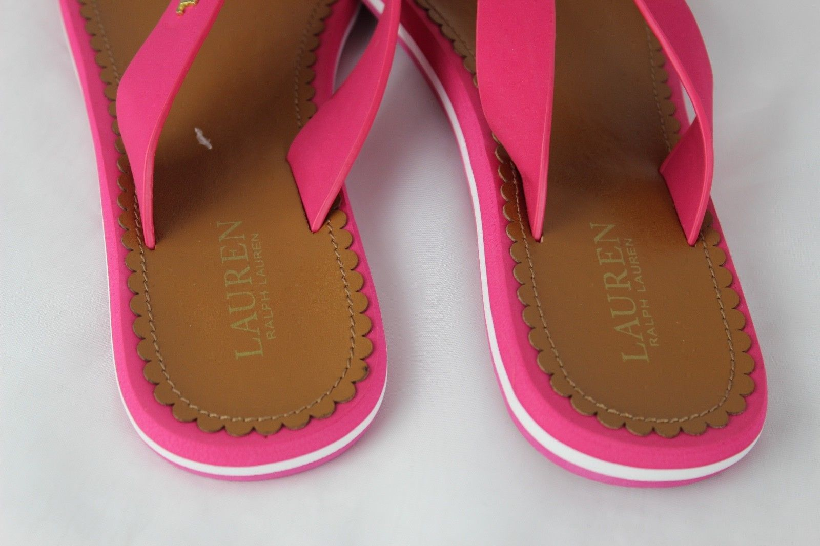 2acb4cfd2f00 Lauren Ralph Lauren Ryanne pink flip flops and 50 similar items