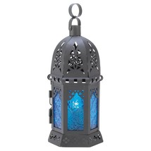 Moroccan Lantern, Large Iron Outdoor Moroccan Lantern Decor For Candle - $18.99