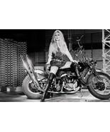 Brigitte Bardot on Harley Davidson     13x19 inch poster - $13.85