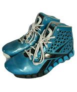 Reebok Blue High Top Basketball Sneakers Sz 6  - $39.99