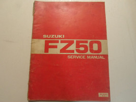 1980 Suzuki FZ50 Service Repair Shop Manual Worn Damaged Factory Oem Book 80 - $17.77