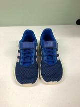 adidas Unisex-Child Racer Tr 2.0 Running Shoe Little Kid Size 13K Blue - $44.55