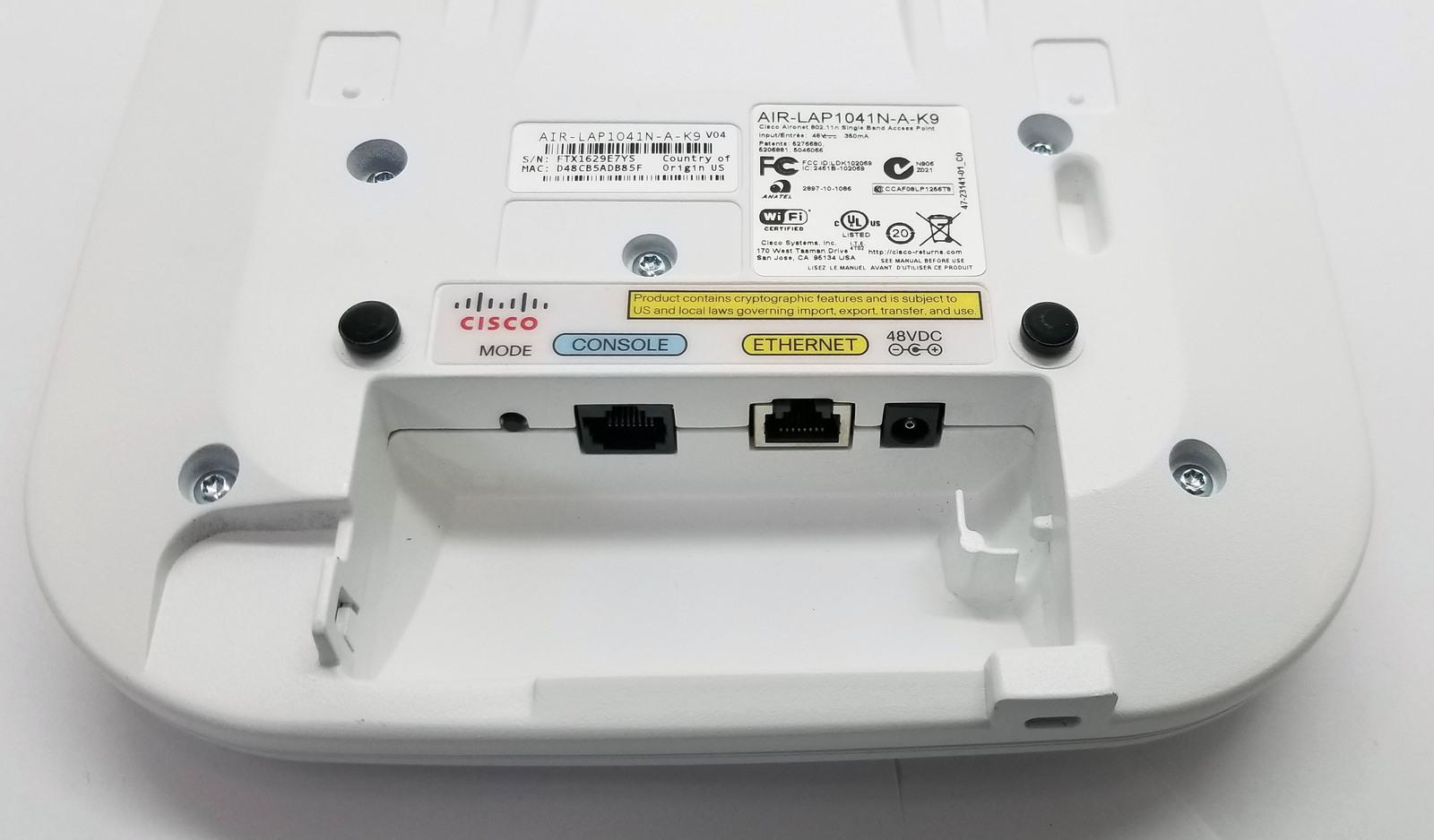 Cisco AIR-LAP-1041N-A-K9 Wireless Access Point Bin:BR
