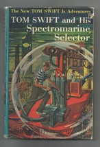 TOM SWIFT AND HIS SPECROMARINE SELECTOR     1ST Blue Spine EX++  Dollar Box - $32.10