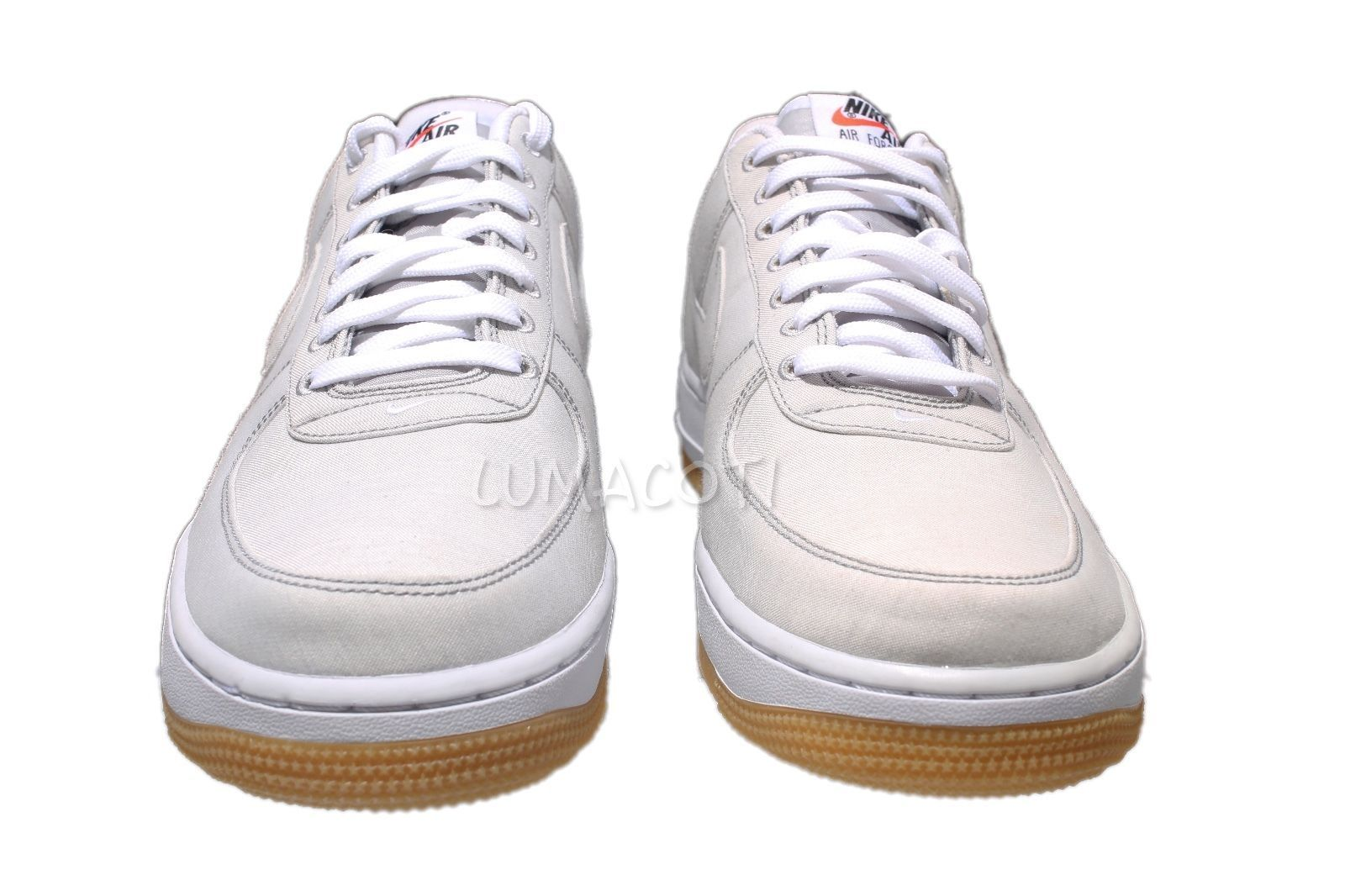 cbbc4b2dd29 Mens Size 9.5 Nike Air Force 1 LV8 Wolf Grey Gum Low Sneakers  718152