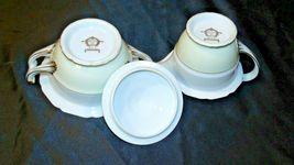 Noritake China Japan Goldora 882 Cream and Sugar with lid AA20-2140 Vintage image 5