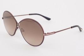Tom Ford Rania Dark Brown / Brown Gradient Sunglasses TF564 48G - $224.42
