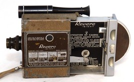 REVERE EIGHT 8 Model Seventy 70 Magazine Cine Vintage 8mm Film Movie Cam... - $39.60