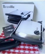 NIB Breville Panini Grill Press Adj Height TG425XL Stainless Steel Nonstick - $59.99