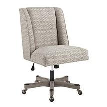 Linon Grey Metallic Adjustable Clayton Office Chair - $999.99