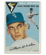 1954 Topps #222 Bill Wilson, Chicago White Sox - $5.50