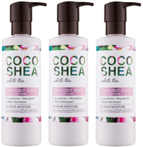 Bath & Body Works Coco Shea White Tea Body Lotion 7.8 fl oz Set Of 3 Bot... - $29.37