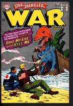 STAR SPANGLED WAR STORIES #135 1967 DC DINOSAUR STORY HIGH GRADE - $212.19