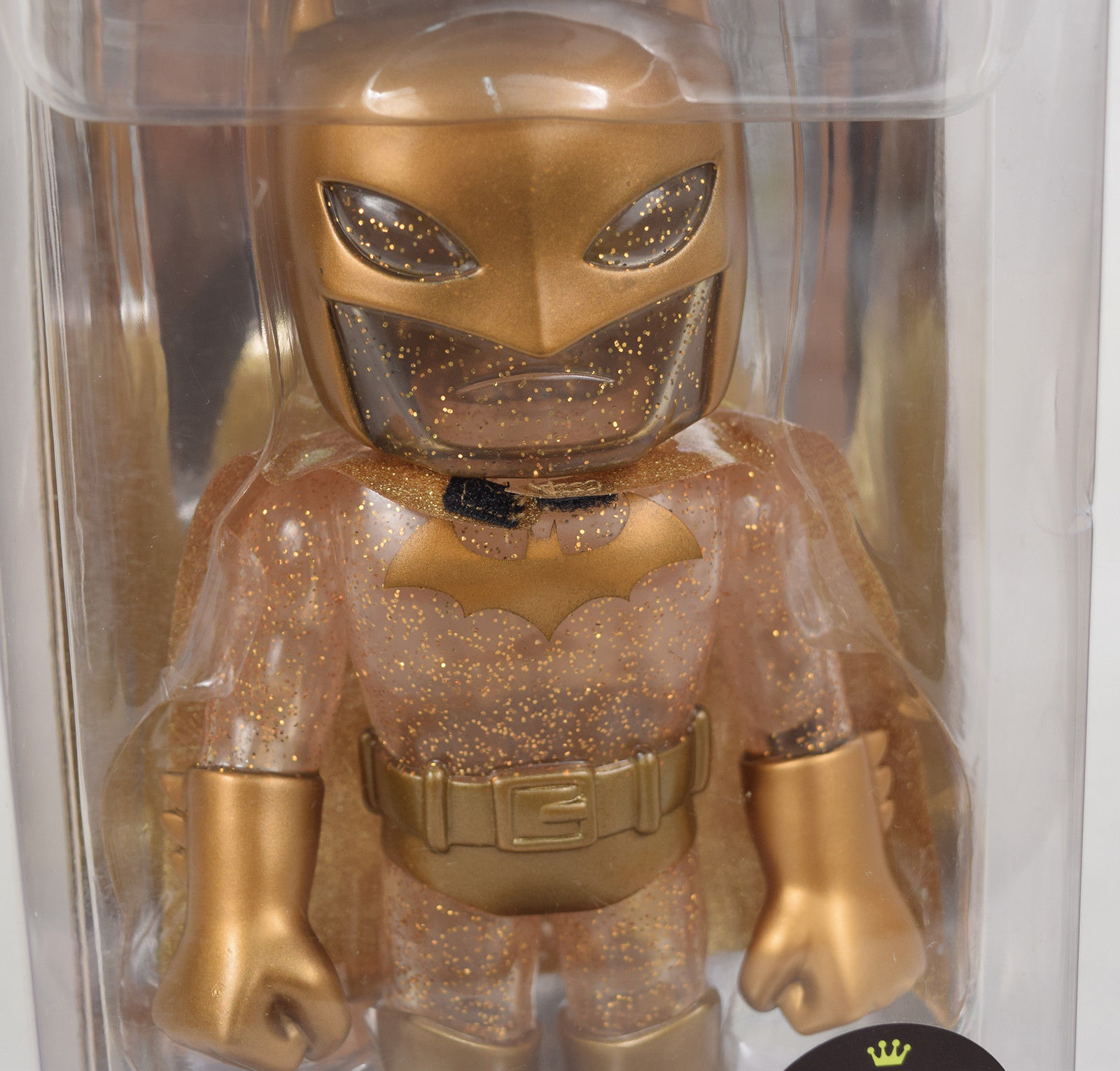 Funko Vinyl Hikari Japanese Gold Batman Limited Edition 500 Gold Glitter 7""
