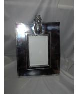 Vntg Mariposa Sand Cast Aluminum Brillante 4 x 6 Picture Frame Pineapple... - $74.25